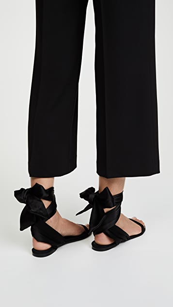 Cedric Charlier Wrap Sandals