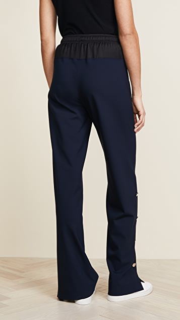 Cedric Charlier Wide Leg Long Trousers