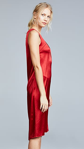 Cedric Charlier Asymmetrical Dress