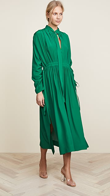 Cedric Charlier Long Shirt Dress