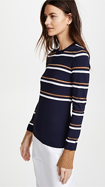 Cedric Charlier Striped Sweater