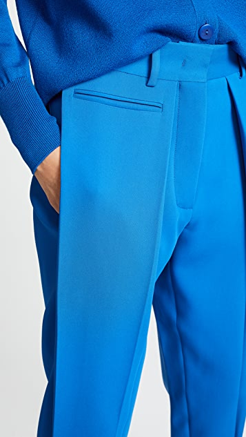 Cedric Charlier Cropped Trousers