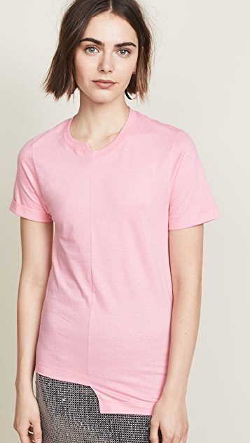 Cedric Charlier x Fruit of the Loom Asymmetrical Tee