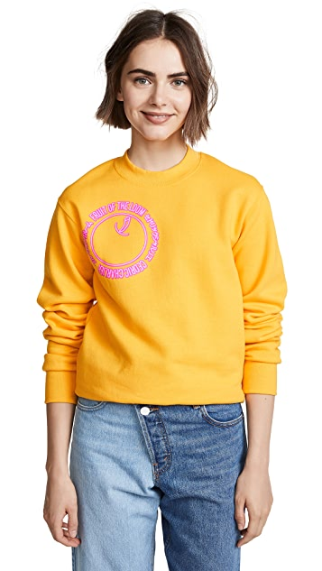 Cedric Charlier x Fruit of the Loom Graphic Logo Pullover