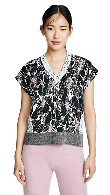 Cedric Charlier Graphic Sweater