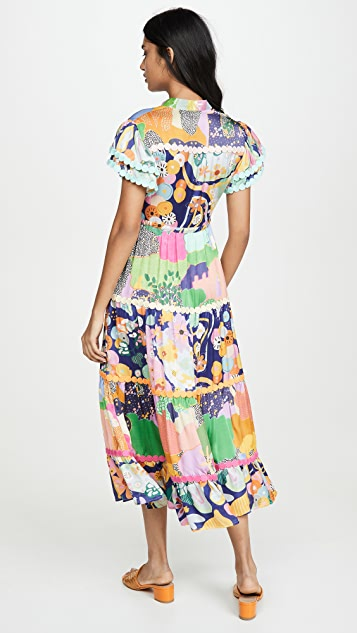 CeliaB Платье Peranakan