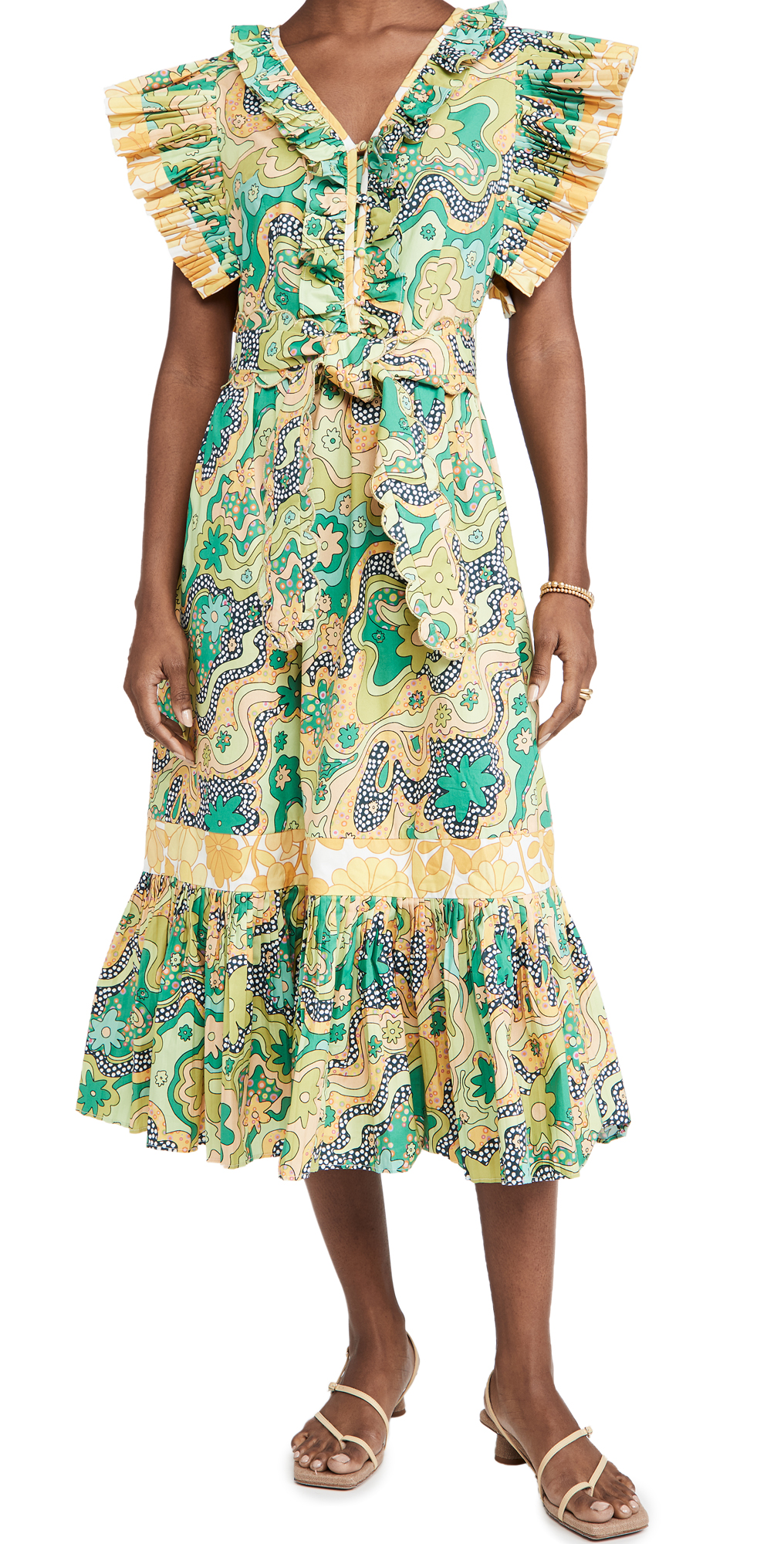 CeliaB Sun Flower Dress