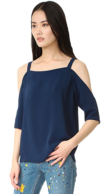 Cooper & Ella Zoe Cold Shoulder Top