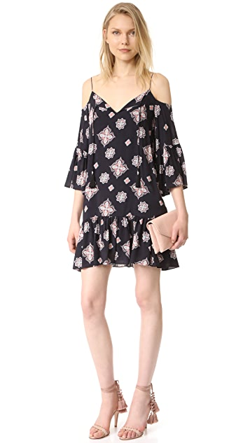 Cooper & Ella Mirella Cold Shoulder Dress