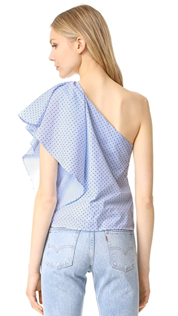 Cooper & Ella Livia One Shoulder Top