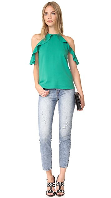 Cooper & Ella Cold Shoulder Top
