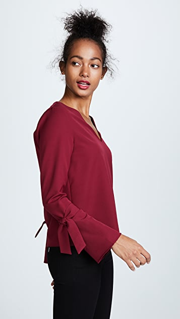 Cooper & Ella V Neck Blouse