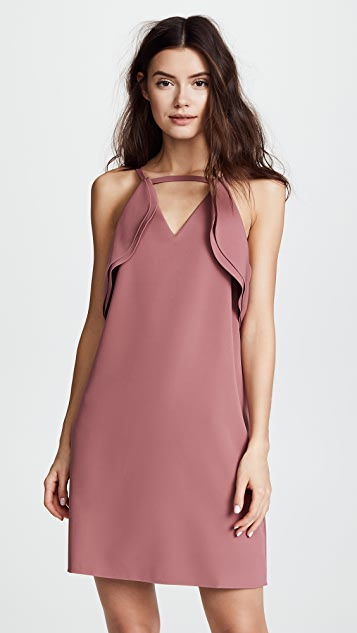 Ruffle Halter Dress by Cooper & Ella