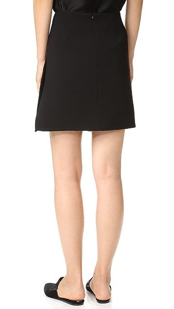 Christopher Esber Open Vent Mini Skirt