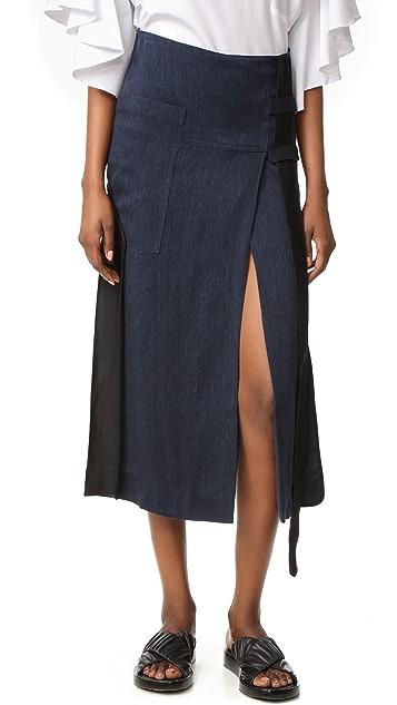 Christopher Esber Belted Skirt