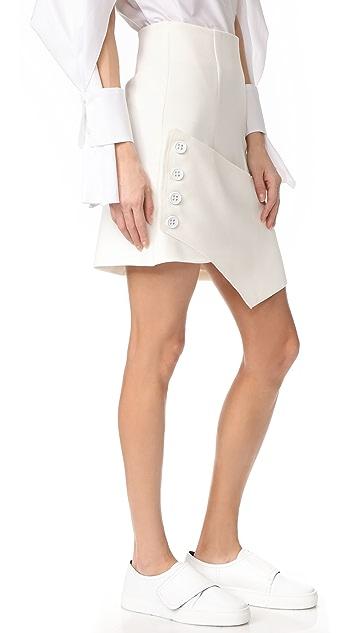 Christopher Esber Tailored Wrap Skirt