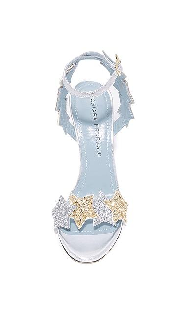 Chiara Ferragni Star Sandals