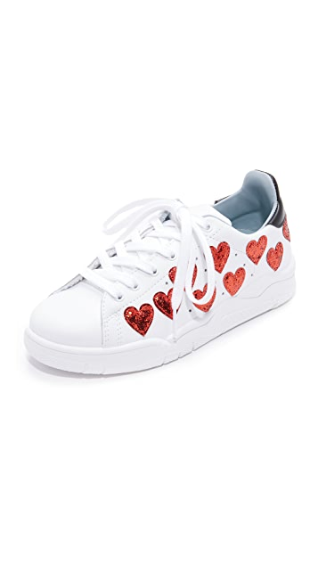 Chiara Ferragni Heart Sneakers 100% Guaranteed Stockist Online 0vuk8G2HGK