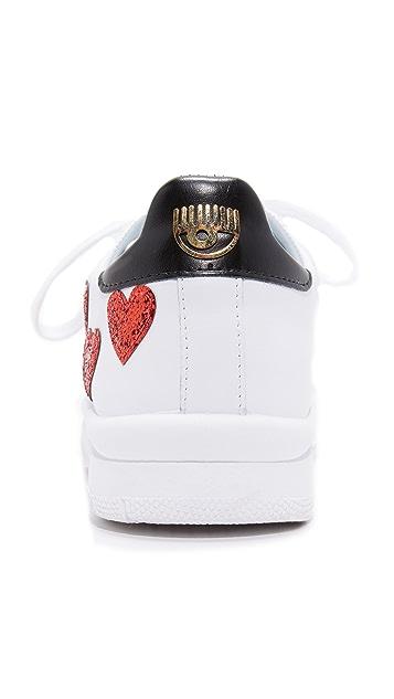 Chiara Ferragni Heart Low Sneakers