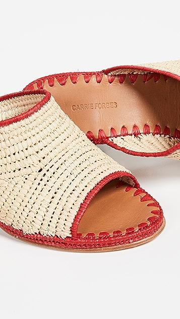 Carrie Forbes Туфли без задников Rama