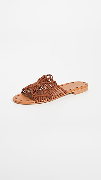Carrie Forbes Rosa Slide Sandals