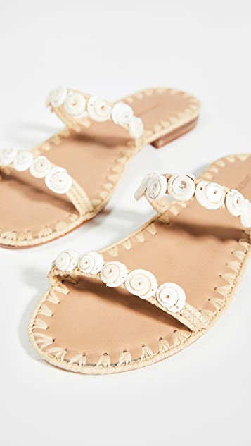 Carrie Forbes Yasmina Shell Slides