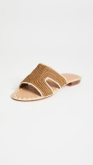 Carrie Forbes Cuadro Slide Sandals