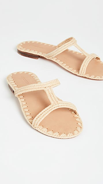 Carrie Forbes Iris Slide Sandals