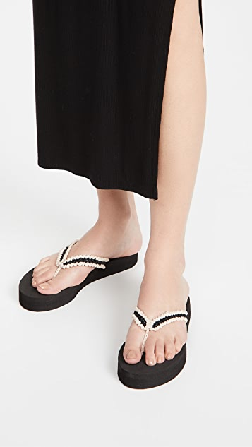 Carrie Forbes Flip Flops