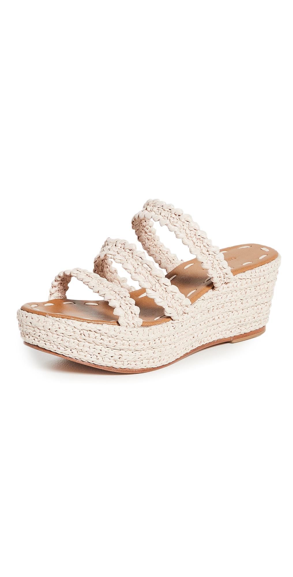 Said Platform Wedge Sandals