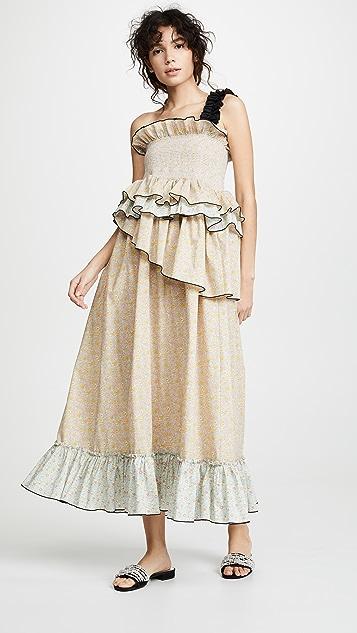 CF Goldman Ashley Smocked Dress