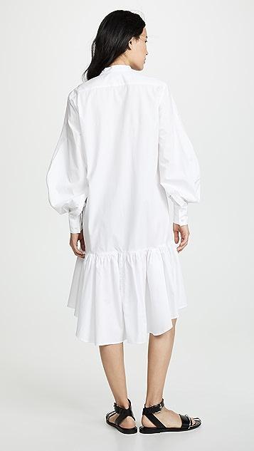 CF Goldman Peplum Shirtdress