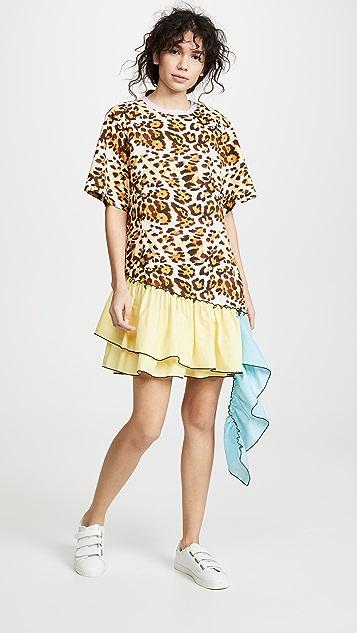 CF Goldman Waterfall T-Shirt Dress