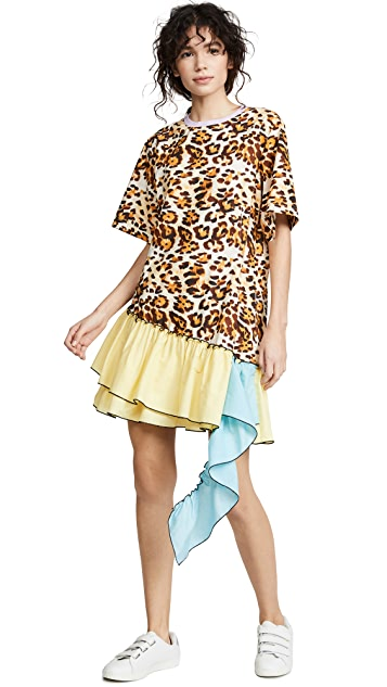 CF Goldman Платье-футболка Waterfall