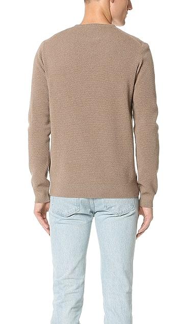 Capital Goods Pique Merino Crew Neck Sweater
