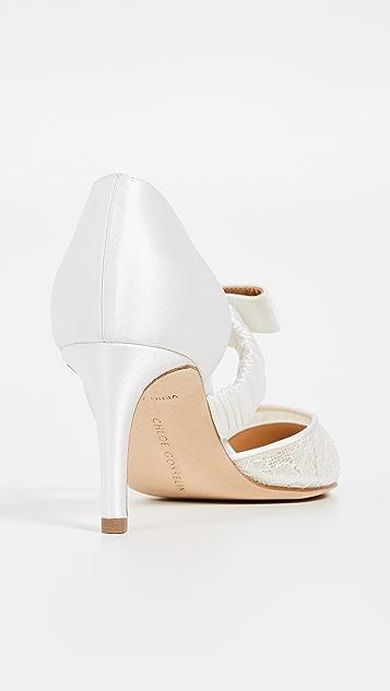 Chloe Gosselin Lily 70 蕾丝浅口鞋