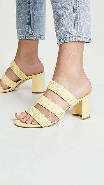 Chloe Gosselin 70mm Delphinium Slide Sandals