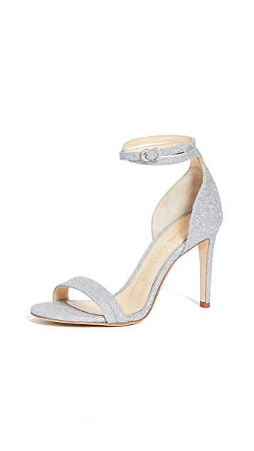 Chloe Gosselin Narcissus 90mm Glitter Sandals