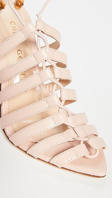 Chloe Gosselin Kristen 尖头系带凉鞋