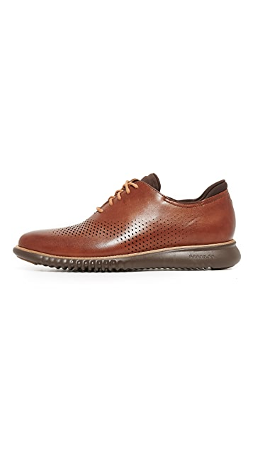 Cole Haan 2.Zerogrand Laser Perforated Wingtip Oxfords