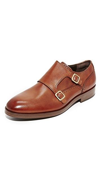 Cole Haan Harrison Grand Double Monk Straps ...