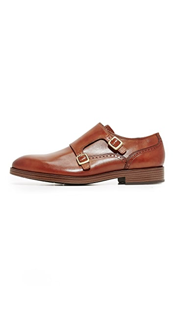 Cole Haan Harrison Grand Double Monk Straps