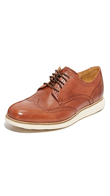 Cole Haan Original Grand Wingtip Lace Up Oxfords