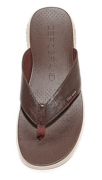 Cole Haan Zerogrand Thong Sandals