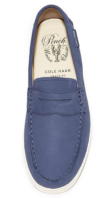 Cole Haan Pinch Nubuck Weekender Slip Ons