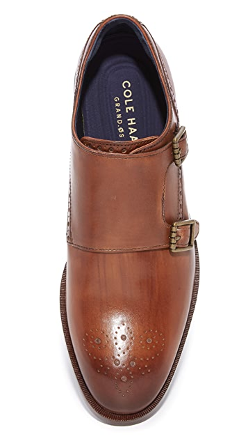 Cole Haan Hamilton Grand Double Monk Strap Shoes