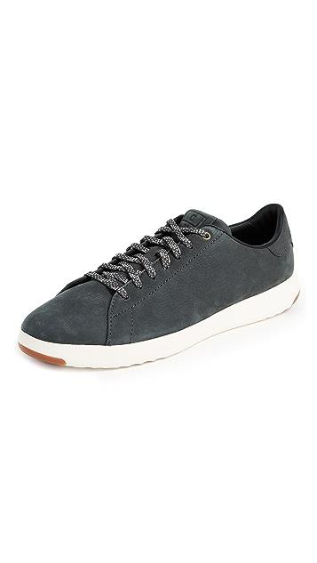 Cole Haan GrandPro Nubuck Tennis Sneakers
