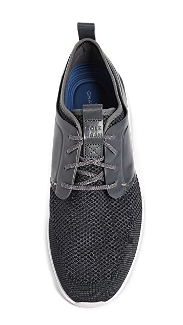 Cole Haan Grand Motion Knit Lace Up Sneakers