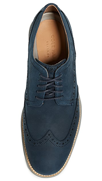 Cole Haan Original Grand Shortwing Lace Up Shoes