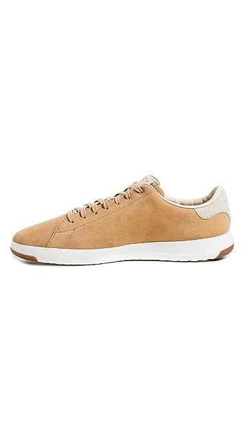Cole Haan Grandpro Suede Tennis Sneakers
